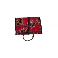 Porte-monnaie design Tissus Batik
