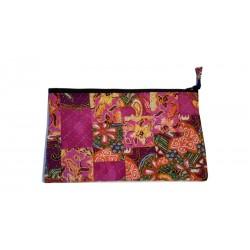 Pochette élégante Tissus Batik