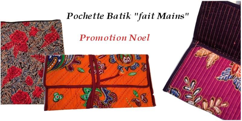 Pochette de voyage Trousse Batik