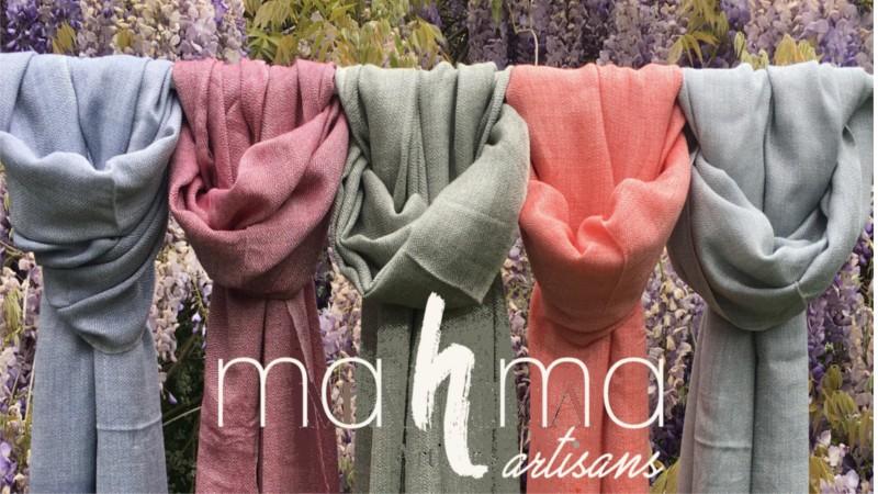 Écharpe et foulard  Soie et coton organique